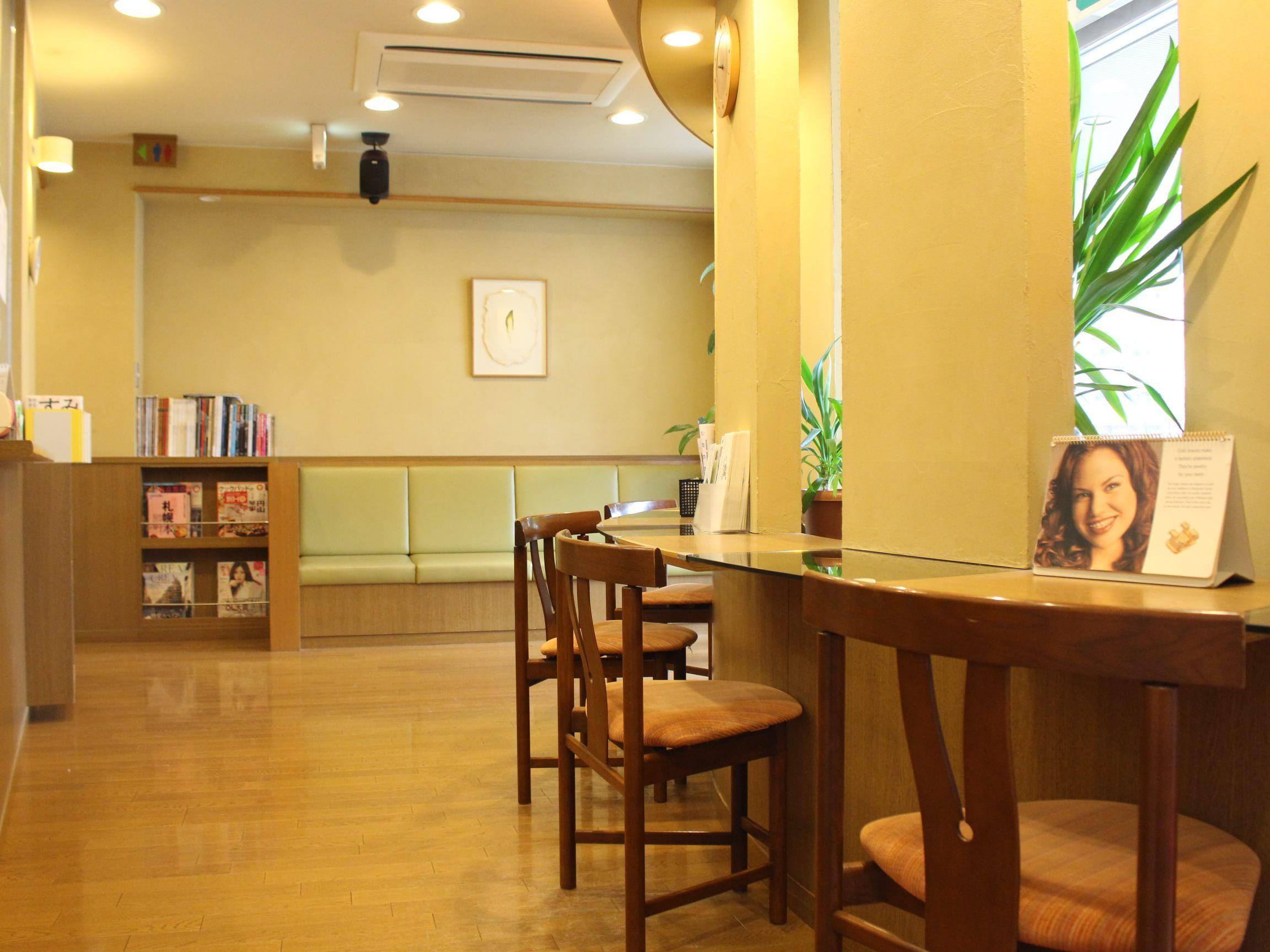 新道東駅 5番出口徒歩 1分 アガサ歯科クリニックの院内写真6
