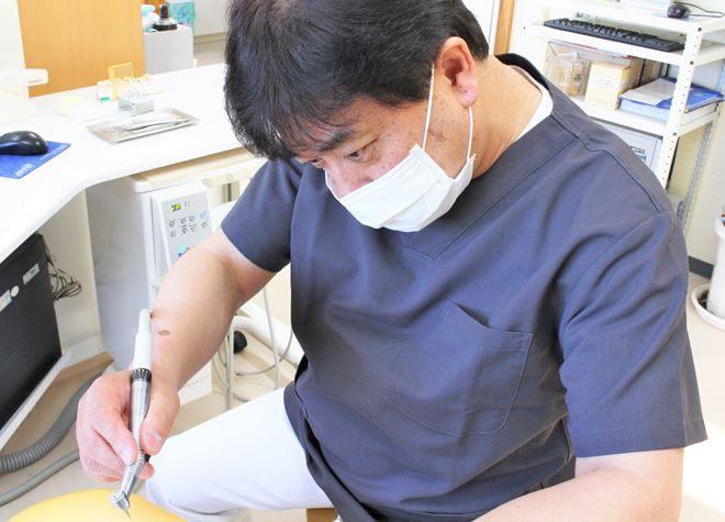 磐田駅 出口車20分 さかた歯科医院の治療台写真1