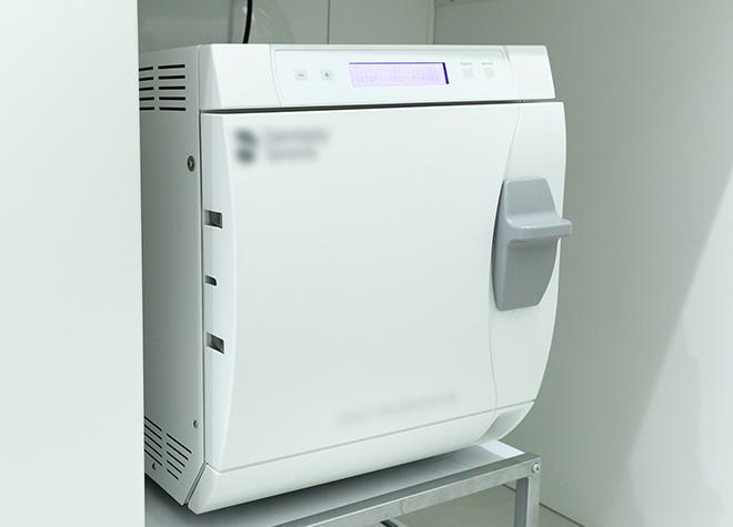 タービン専用の滅菌器も導入!快適に過ごせる清潔な歯医者さん
