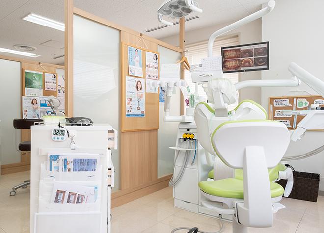 桃山御陵前駅 出口徒歩 1分 ひらうち歯科の治療台写真6
