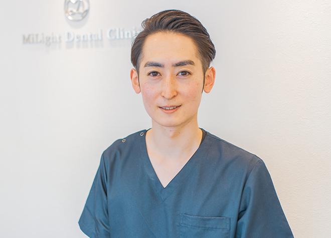 ミライト歯科クリニック初台の院長先生