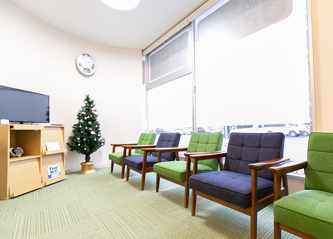 盛岡駅 北口徒歩 10分 ゆうデンタルケアのゆうデンタルケア 待合室写真2