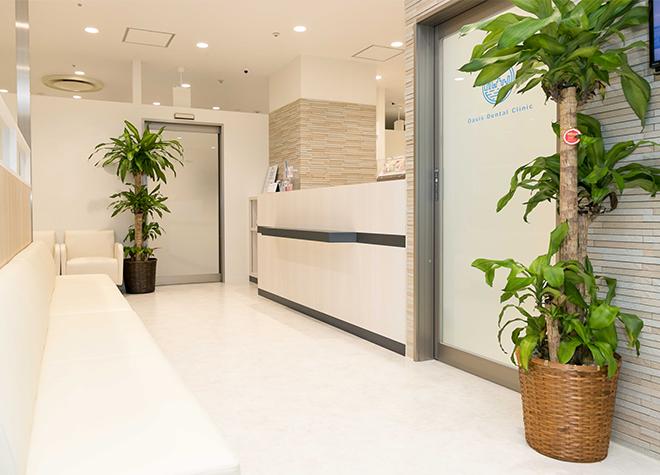 立川駅 北口徒歩 3分 オアシス歯科クリニックのオアシス歯科クリニック 待合室写真6