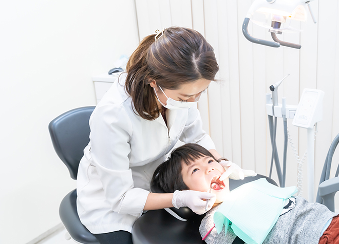 2.将来を見据えた小児歯科
