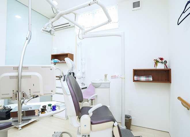 花園駅 出入口2徒歩 2分 白川歯科医院の診療室の風景写真6