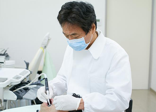 康永歯科医院の院長先生