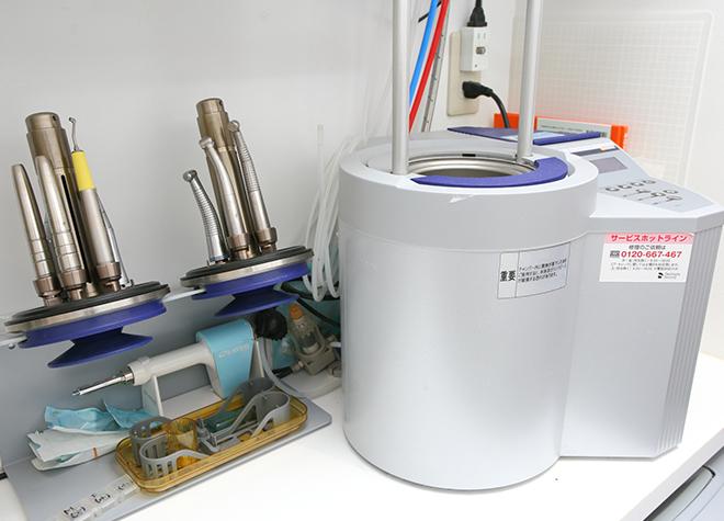 タービン専用の滅菌器