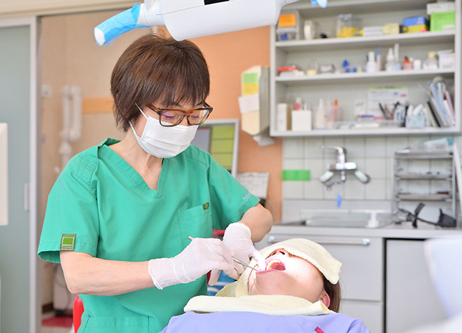 上島駅 車 5分 うめがえ歯科医院写真1