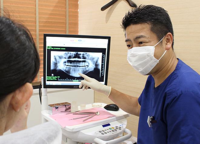 家族みんながくつろげる、地域密着の歯医者さん