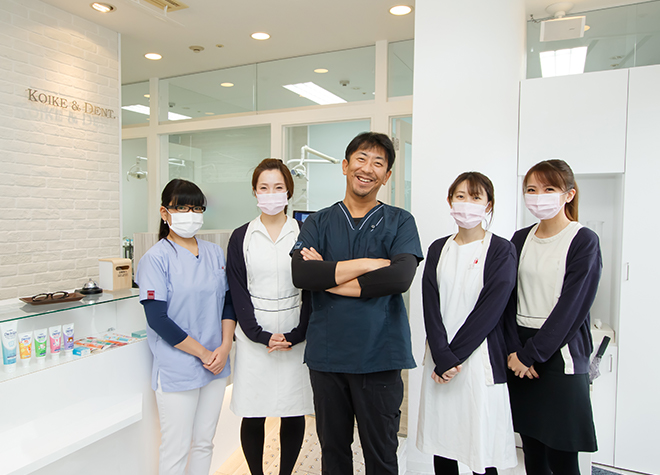 川西能勢口駅 北口徒歩 3分 こいけ歯科医院写真1