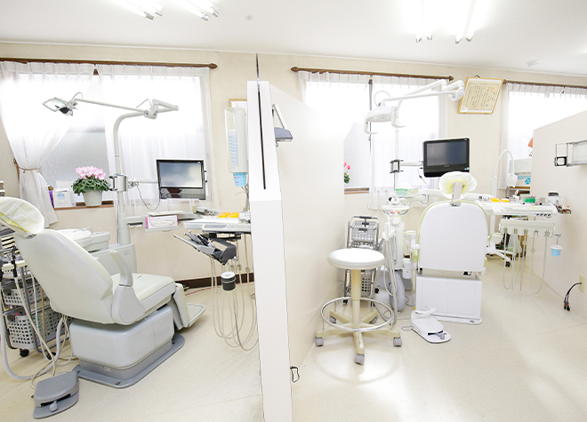 鷹の台駅 出口徒歩 10分 小池歯科医院の診療室の風景写真7