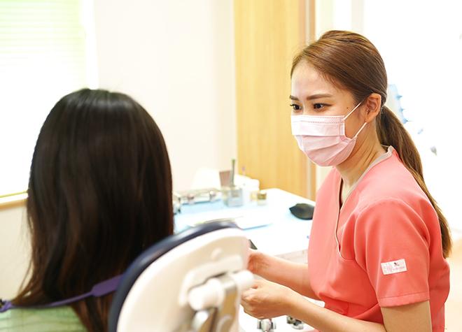 女性歯科医師が在籍!笑気麻酔に対応し子供の恐怖心に配慮