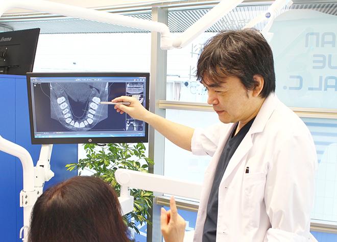 口内状況が理解しやすい!タブレットなどを使用した治療説明