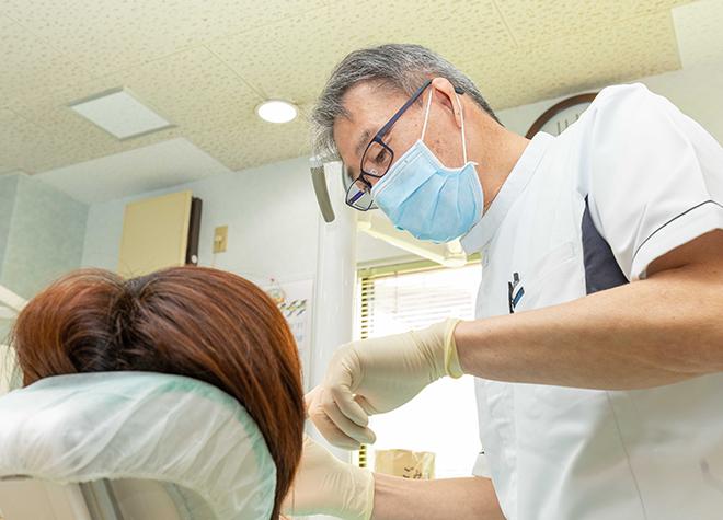 表面麻酔で針の刺激を緩和!痛みを抑えた虫歯治療