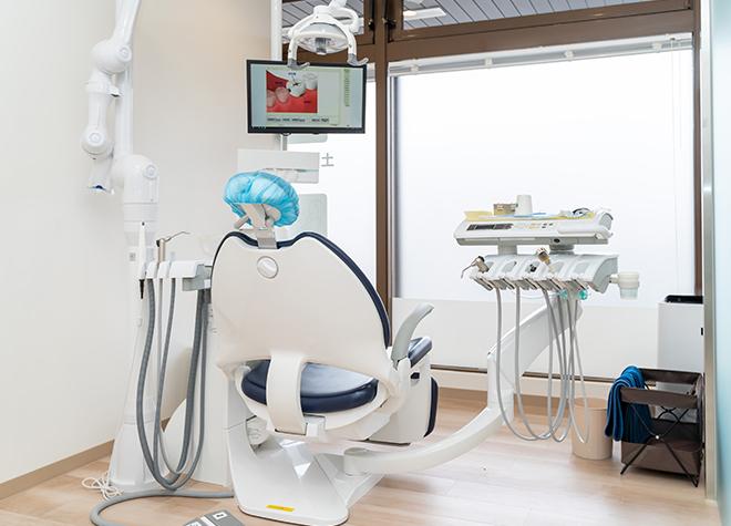 小平駅 北口徒歩 5分 ルミナス歯科クリニックの診療室の風景写真5