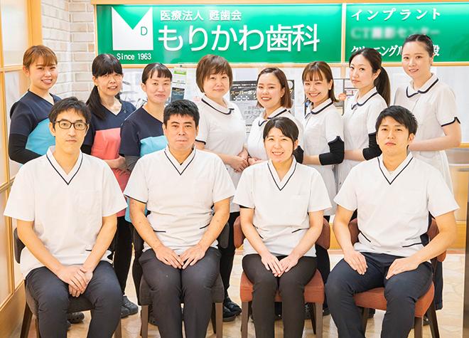 近鉄八尾駅 出口徒歩 4分 もりかわ歯科リノアス診療所写真1