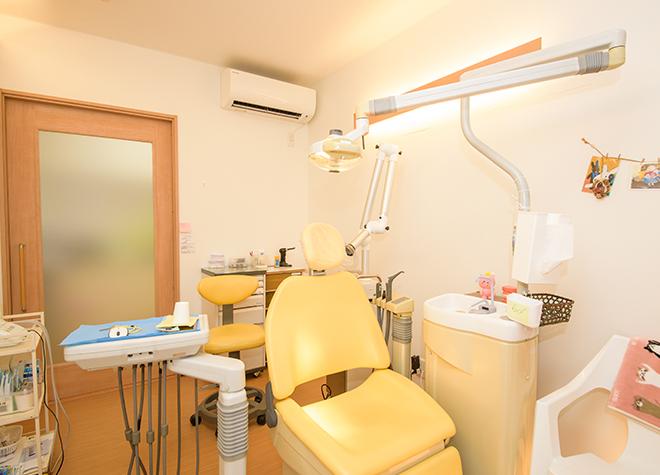 キッズスペースあり!個室の診療室でリラックスした治療を実践