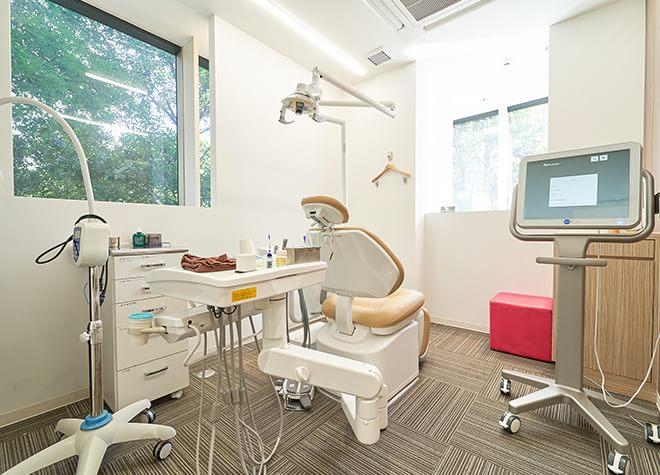 五反田駅 徒歩14分 大崎ウエストシティタワーズ歯科の治療台写真5