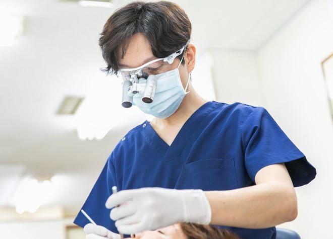 保険診療・自由診療にかかわらず拡大鏡を活用!肉眼の数倍に拡大