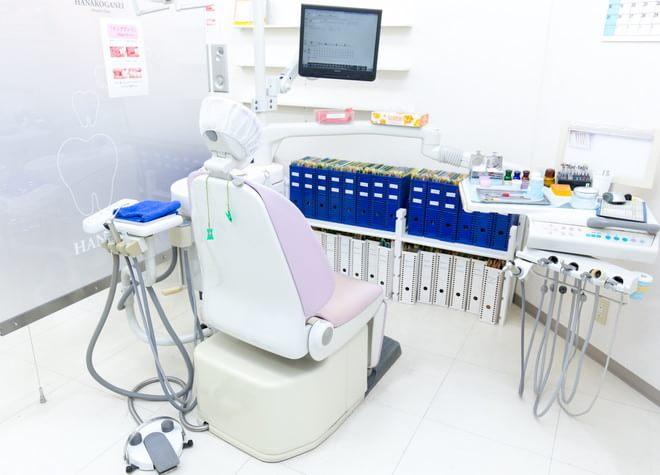 花小金井駅 北口徒歩 1分 花小金井デンタルクリニックの診療室の風景写真5