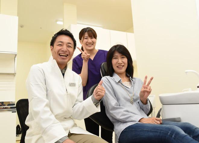 歯科医師と患者さんの様子