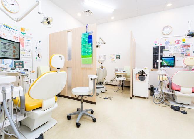 草加駅 西口徒歩 4分 草加クレイン歯科の治療台写真3