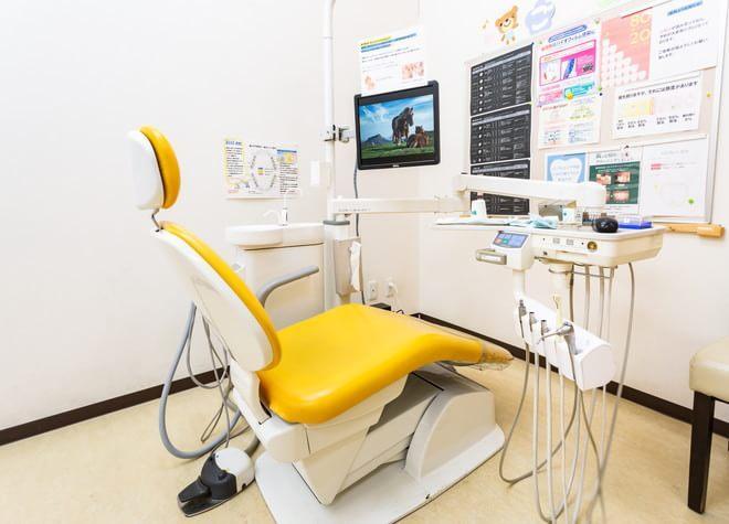 草加駅 西口徒歩 4分 草加クレイン歯科の治療台写真4