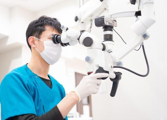 細やかな診療を実践!マイクロスコープや歯科用CTを導入