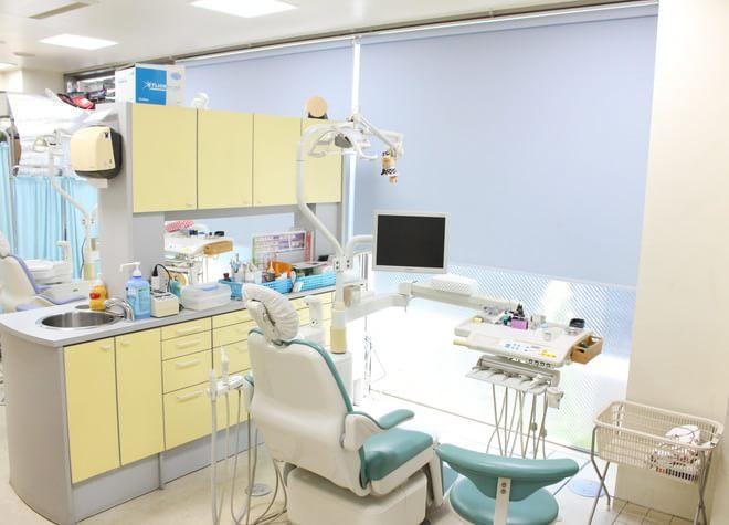 中延駅 出口徒歩 5分 中村歯科の治療台写真7