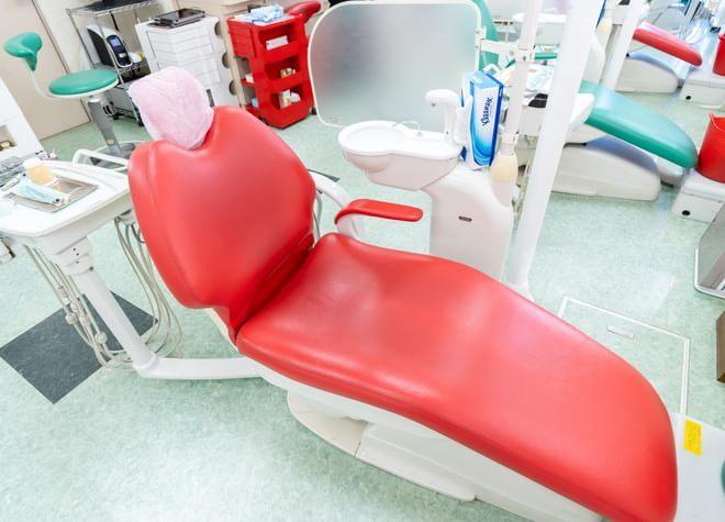 光が丘駅 A5出口徒歩 15分 おおしま歯科医院の治療台写真3