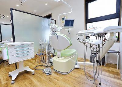仲町台駅 出口徒歩 3分 あおぞら歯科クリニックの治療台写真2