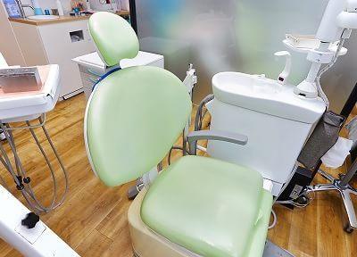 仲町台駅 出口徒歩 3分 あおぞら歯科クリニックの治療台写真3