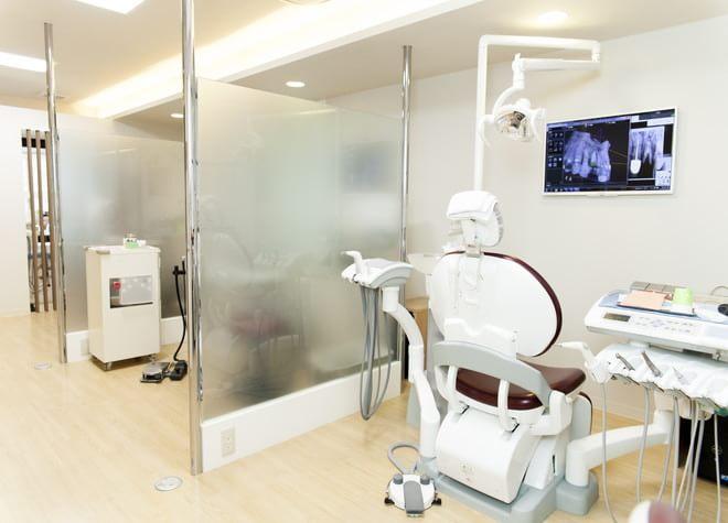 関内駅 北口徒歩 3分 さくら歯科クリニックの治療台写真2