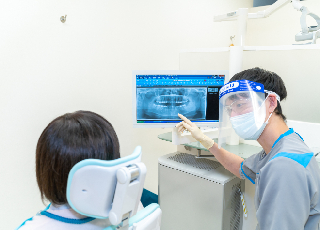 武蔵境駅 南口徒歩 1分 武蔵境駅前歯科のスタッフ写真2