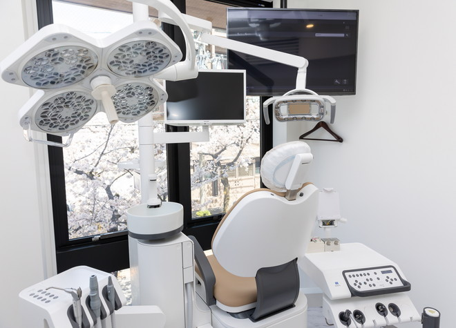 瑞穂区役所駅 1番出口徒歩 2分 名古屋歯科の治療台写真5