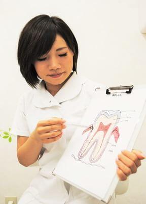 野田阪神駅 4番出口徒歩7分 森本歯科医院のスタッフ写真3