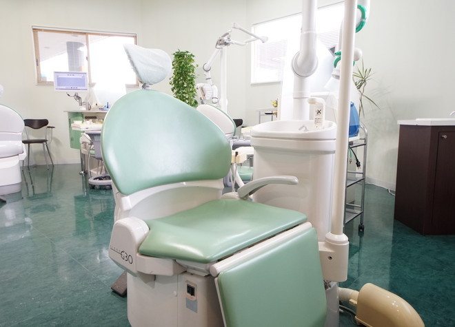 仙台市営バス 霞目営業所徒歩2分 よしゆき歯科医院のよしゆき歯科医院の診療台写真6