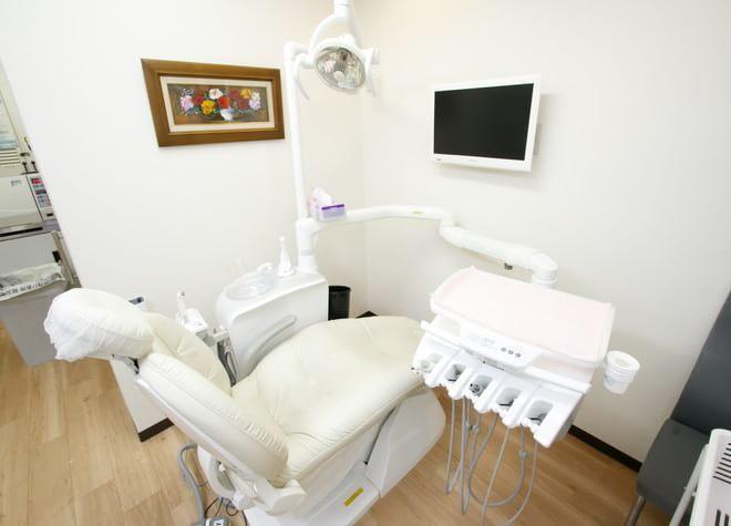 桃谷駅 出口徒歩 2分 桃谷歯科の治療台写真3