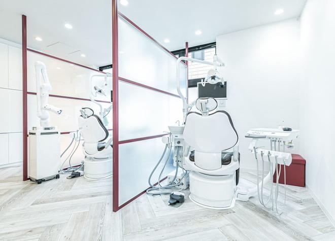 元住吉駅 西口徒歩 1分 ALBA歯科&矯正歯科元住吉の治療台写真2