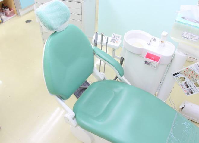 千葉ニュータウン中央駅 出口徒歩 10分 クローバー歯科の治療台写真4