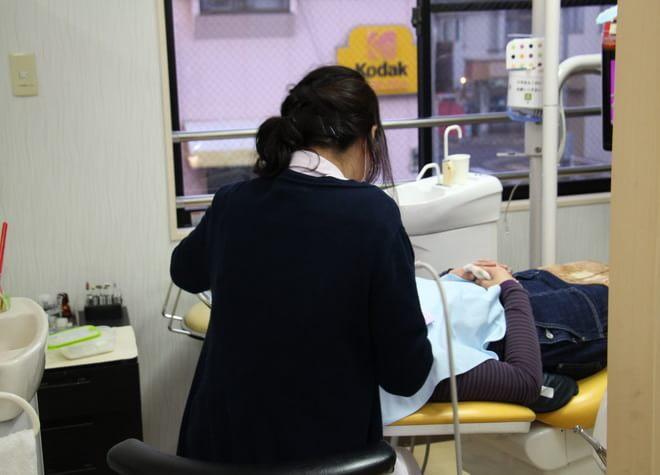 歯科衛生士のアドバイスによるブラッシング指導