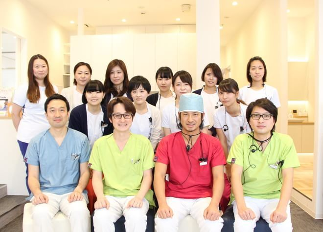 立川南口歯科 歯科医師とスタッフ