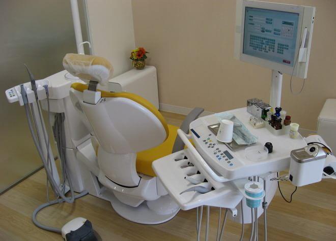 出町柳駅 出口徒歩6分 やまもと歯科の治療台写真7