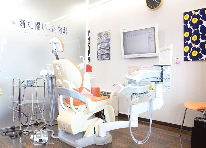 新さっぽろ駅 3or5番出口徒歩5分 新札幌いった歯科写真6