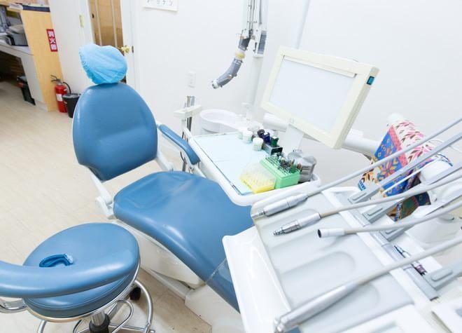 たまプラーザ駅 北口徒歩 10分 服部歯科医院の治療台写真5
