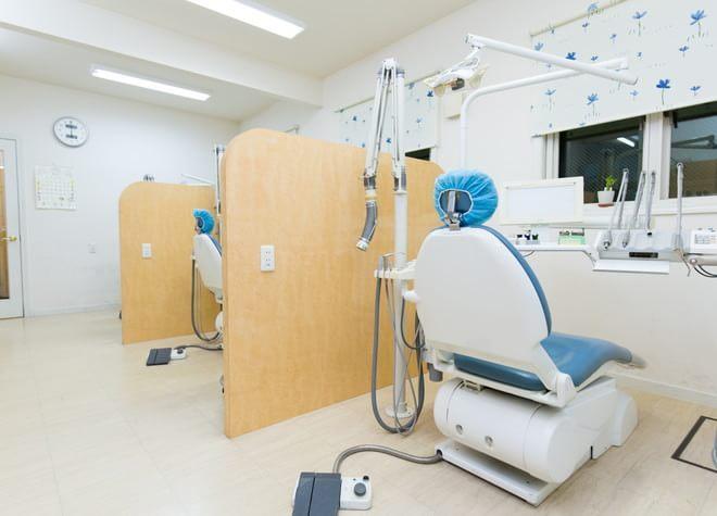 たまプラーザ駅 北口徒歩 10分 服部歯科医院の治療台写真6