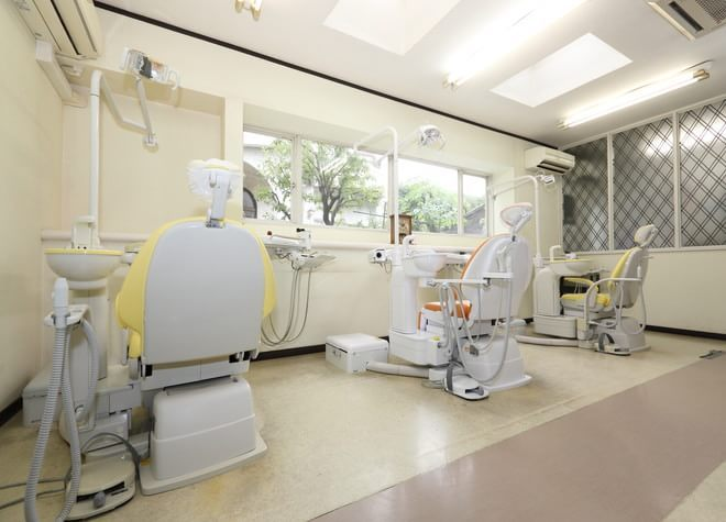 津田沼駅 北口徒歩 4分 西村歯科の治療台写真3