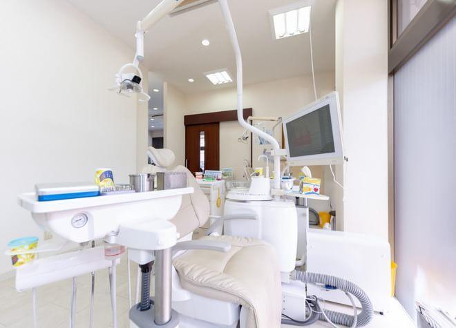 柏駅 東口徒歩 20分 なかがわ歯科クリニックの治療台写真4