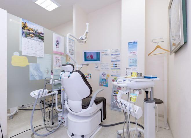 柏駅 東口徒歩 20分 なかがわ歯科クリニックの治療台写真5