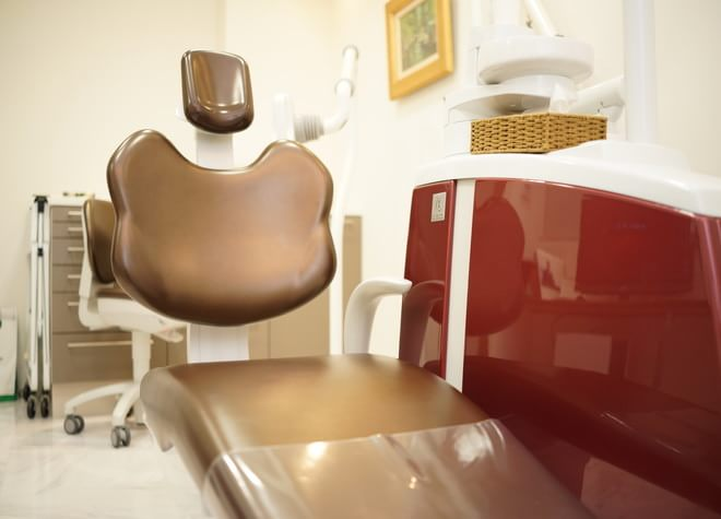 自由が丘駅 南口徒歩 4分 自由が丘ブライト歯科の治療台写真4